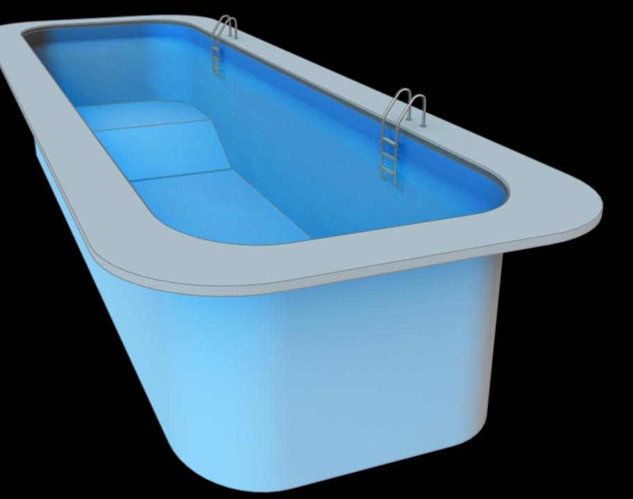 3D Rendering for swimming pool designby SrushtiCreative