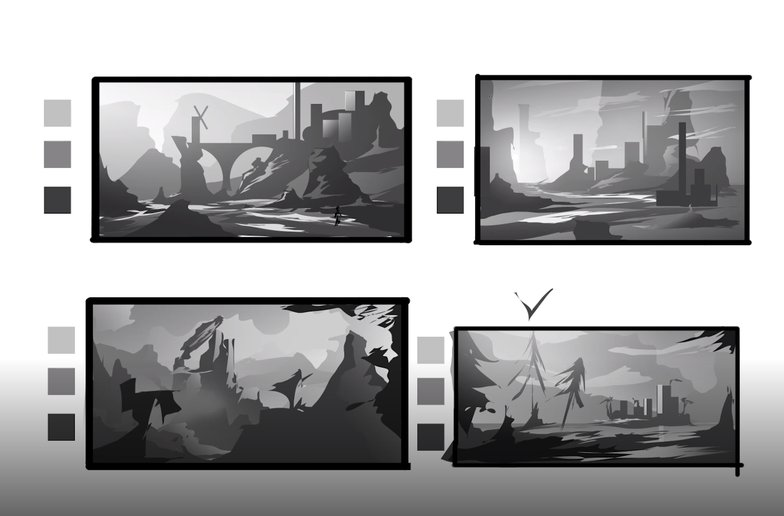 thumbnails forest castle imagery