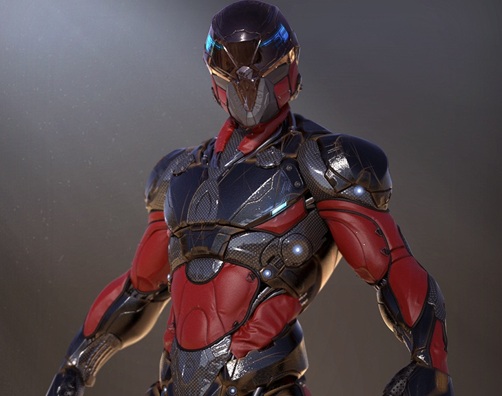 Sci-Fi Soldier by Samir Mirzayev · 3dtotal · Learn