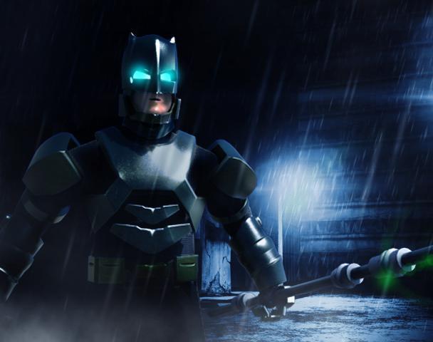 Batman Mech suitby Rahul P Menon