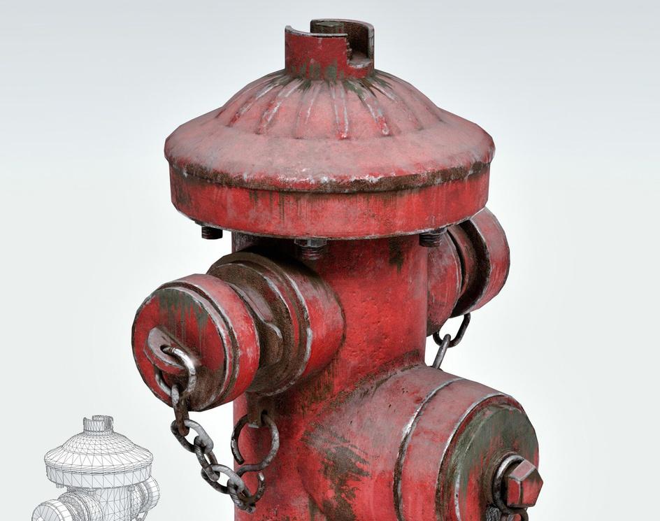 Hydrant texturingby masoud bazzaz
