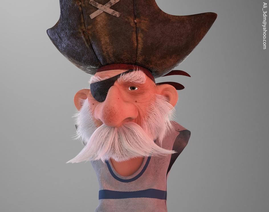 stylized pirateby ali3dm