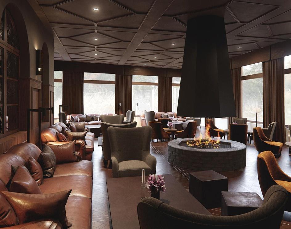 3D Interior Visualization of Hotel Mont Cervin Palaceby Lunas3DVisuals