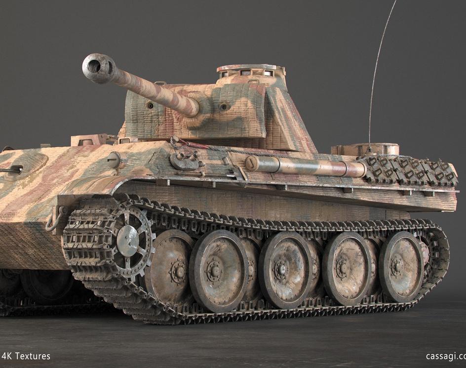 Panther Tankby Cassagi