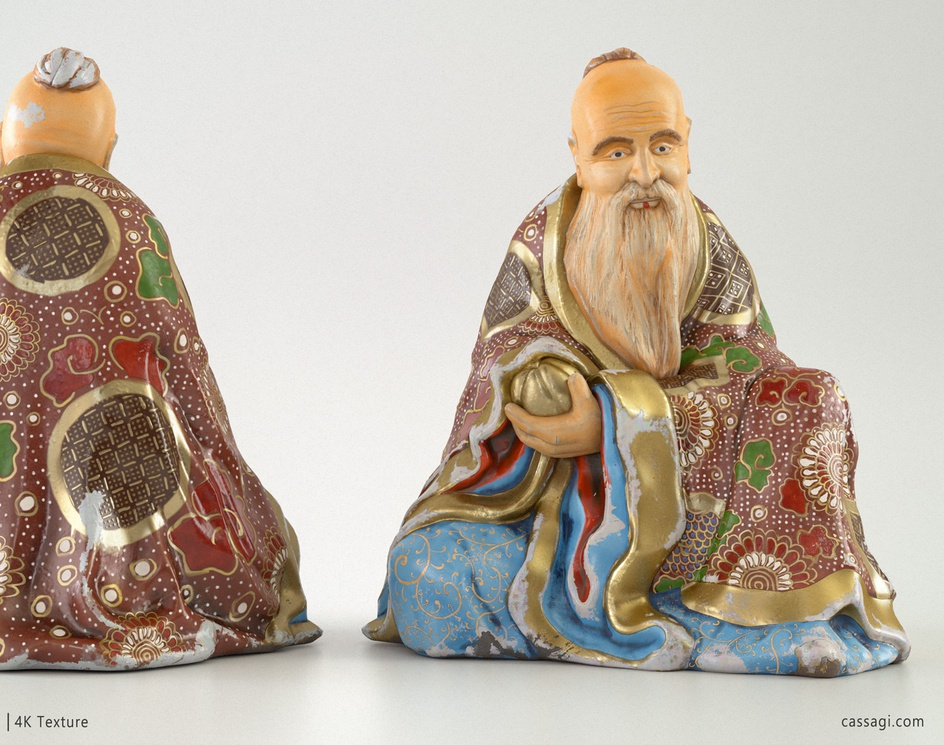 Ceramic miniatureby Cassagi
