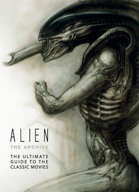 alien the archive  xenamorph sci-fi book