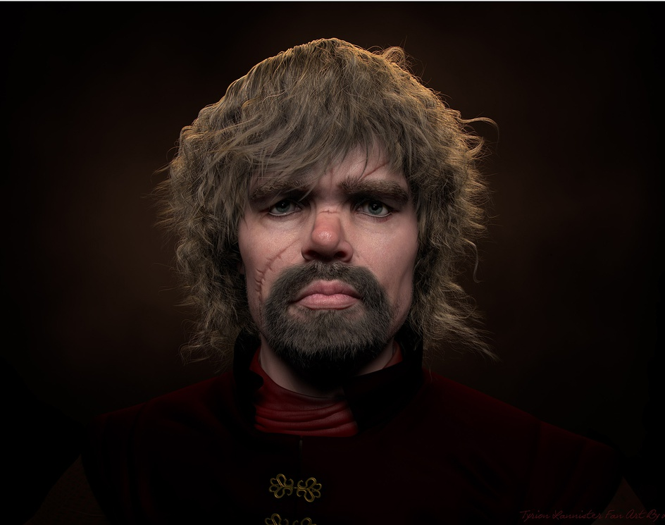 Tyrion Lannister Game Of Thrones Fan Artby Rectro30