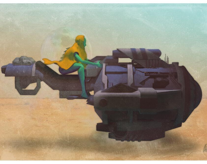 Desert Speederby alvaro alonso