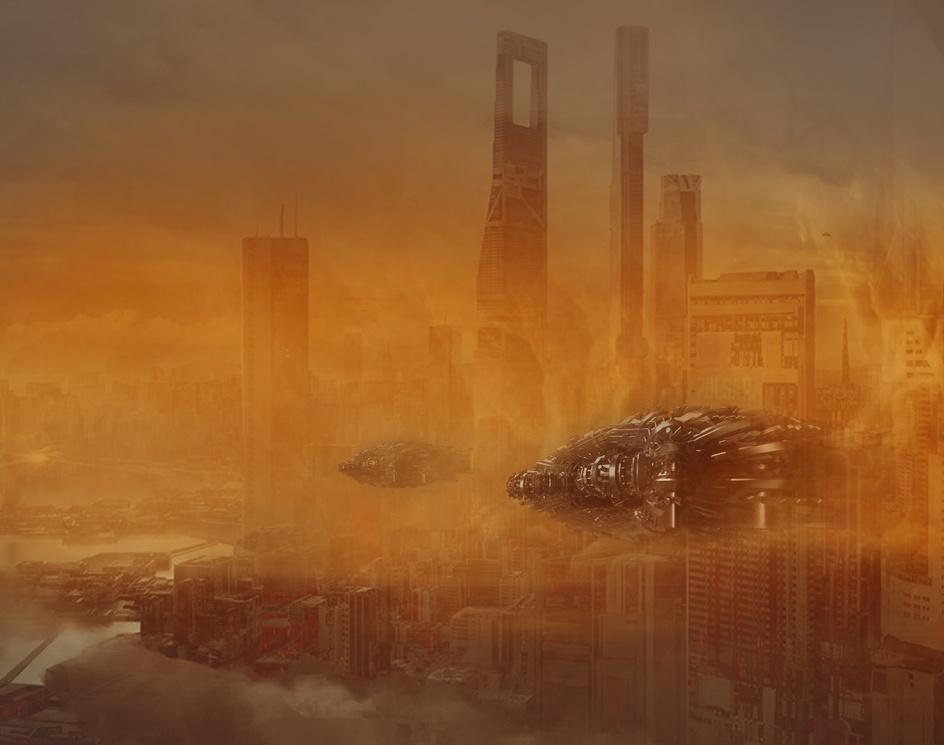 Conceptual sci-fi art projectby kaykaycgarch