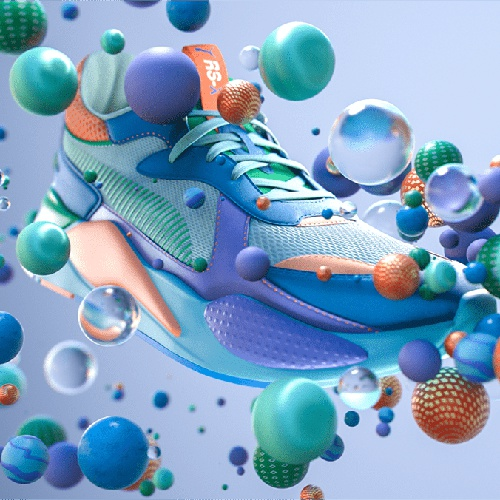 nike trainer shoes illustration