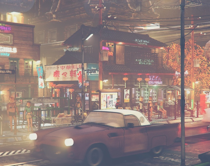 The Blue District - detailby redcigarette