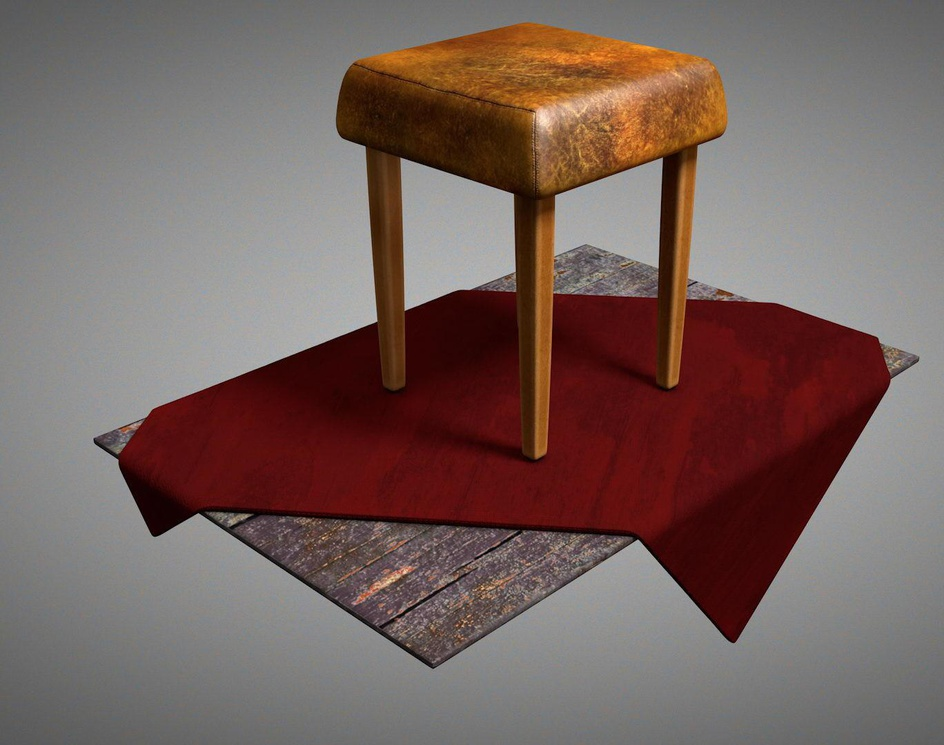 Leather chairby scyrus