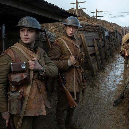 1917 bunker film scene