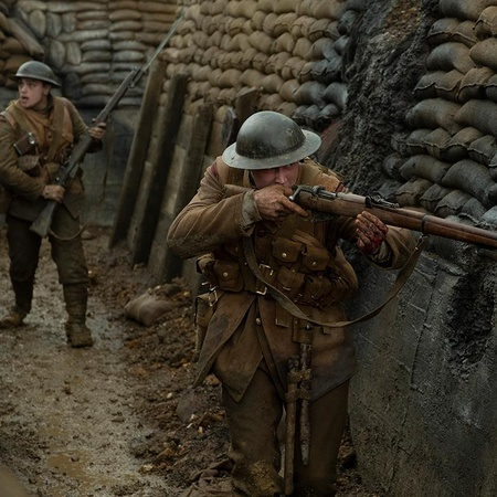 1917 two solider in world war I