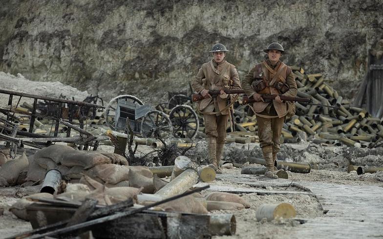 1917 soliders german bunker