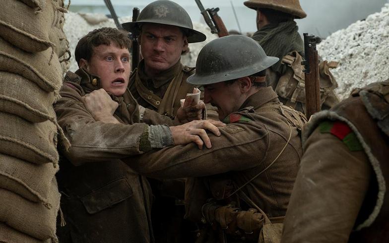 1917 solider at war
