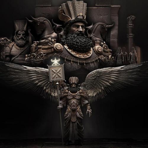 Persian mythology guardian