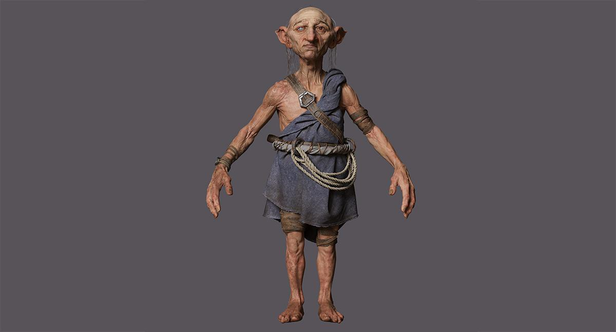 goblin  render modeling lord of the rings reference pose  3d