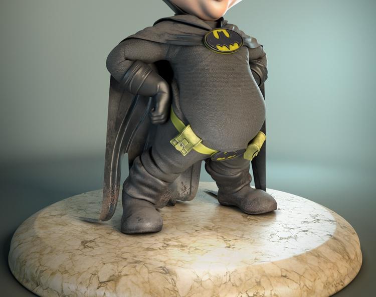 Wee Batmanby Divinitymagic