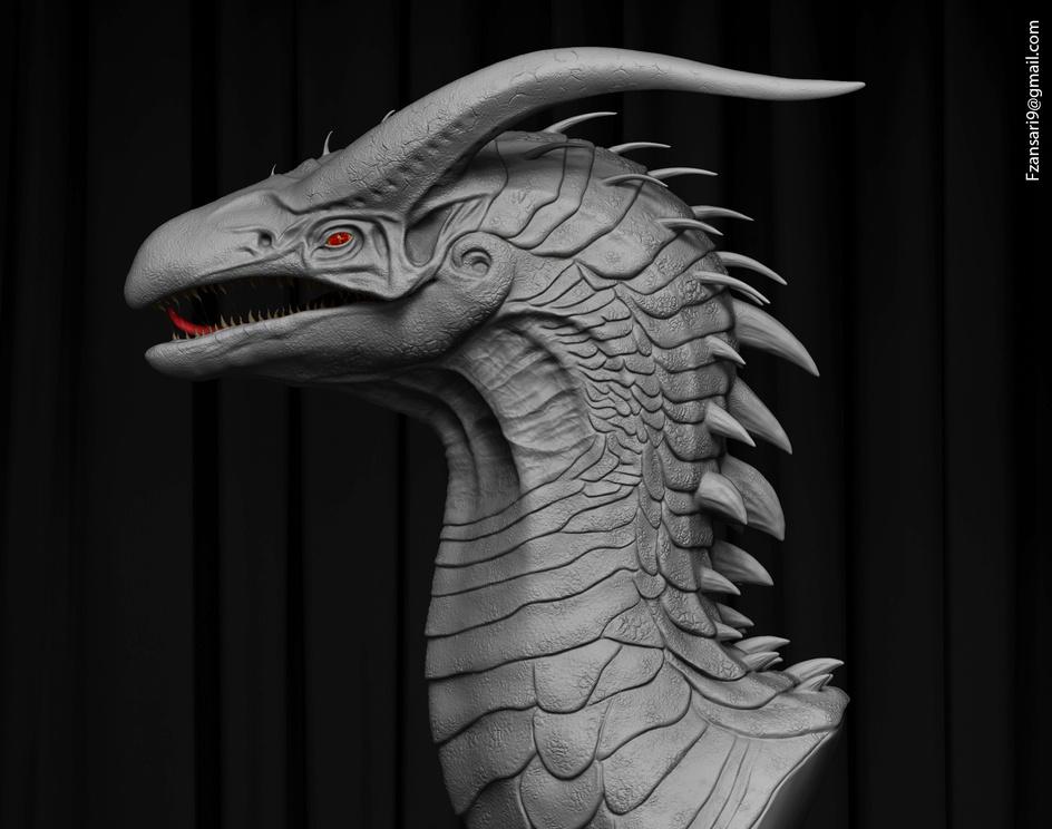 Creature modelby Faiyaz Ansari