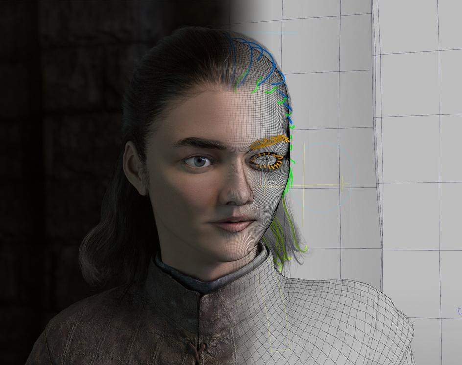 Arya Stark (Game of Thrones)by Kazuki Matoba