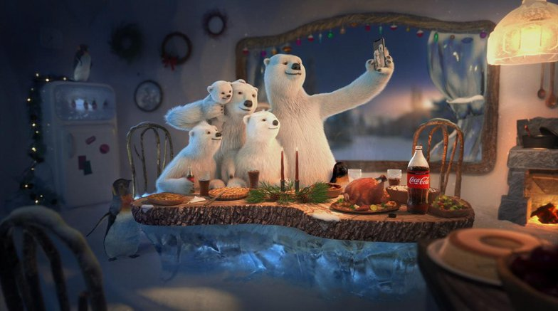 coco cola advertisement polar bears