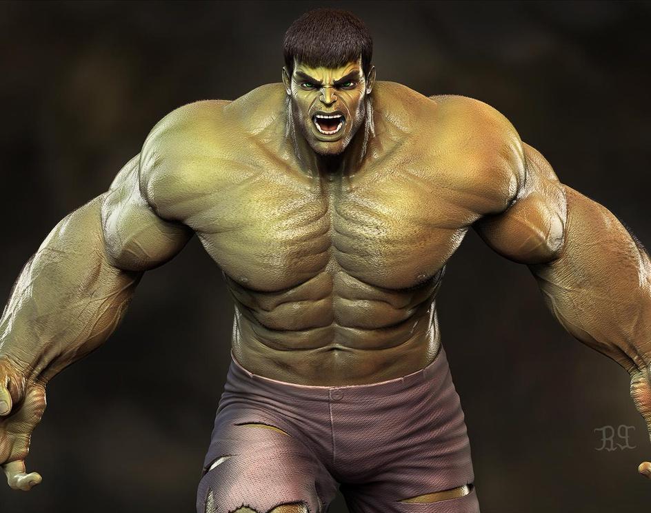 Hulk Classicby S M Bonin