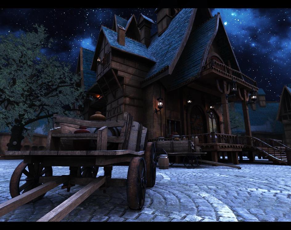 Medieval Houseby Akira Ogawa