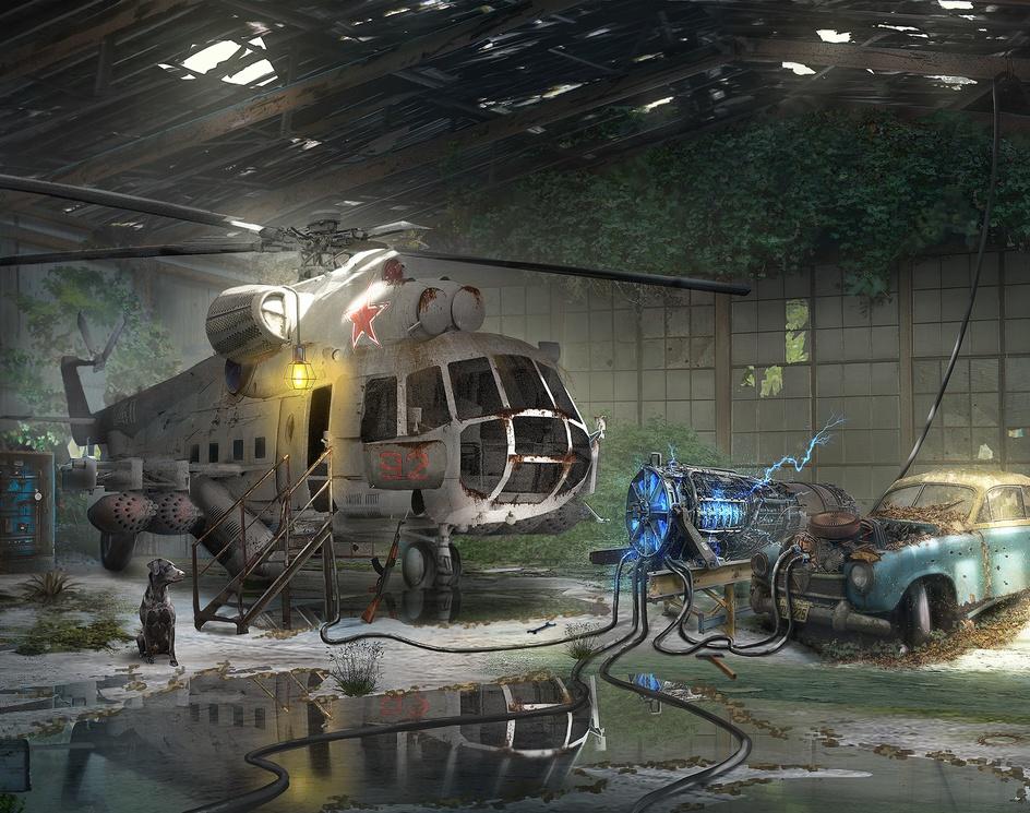 Abandoned hangerby Danny kundzinsh