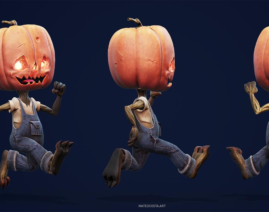 A Belated Halloweenby Mateo Costa