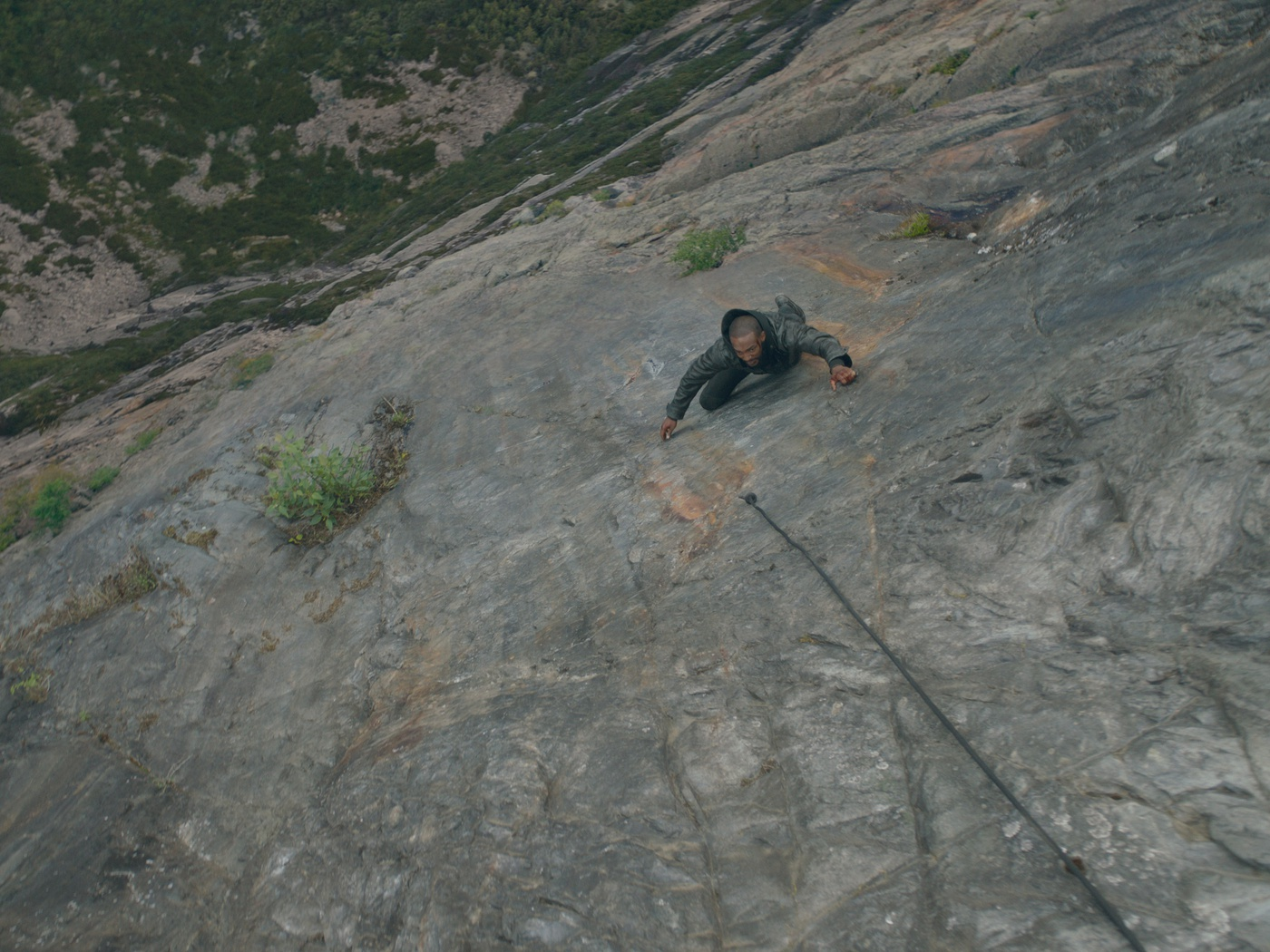 rock climbing cgi effects netflix show