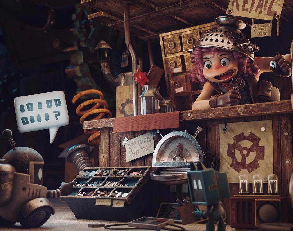 The Junk Shopby Alex Treviño
