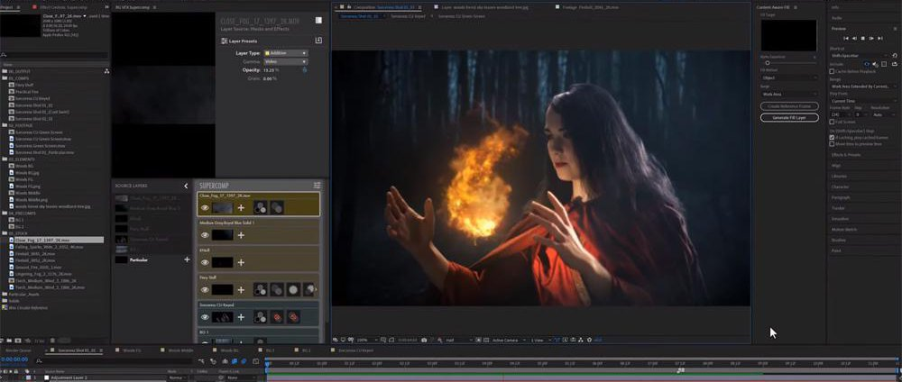 After Effects - Cheap Tricks for Game of Thrones VFX