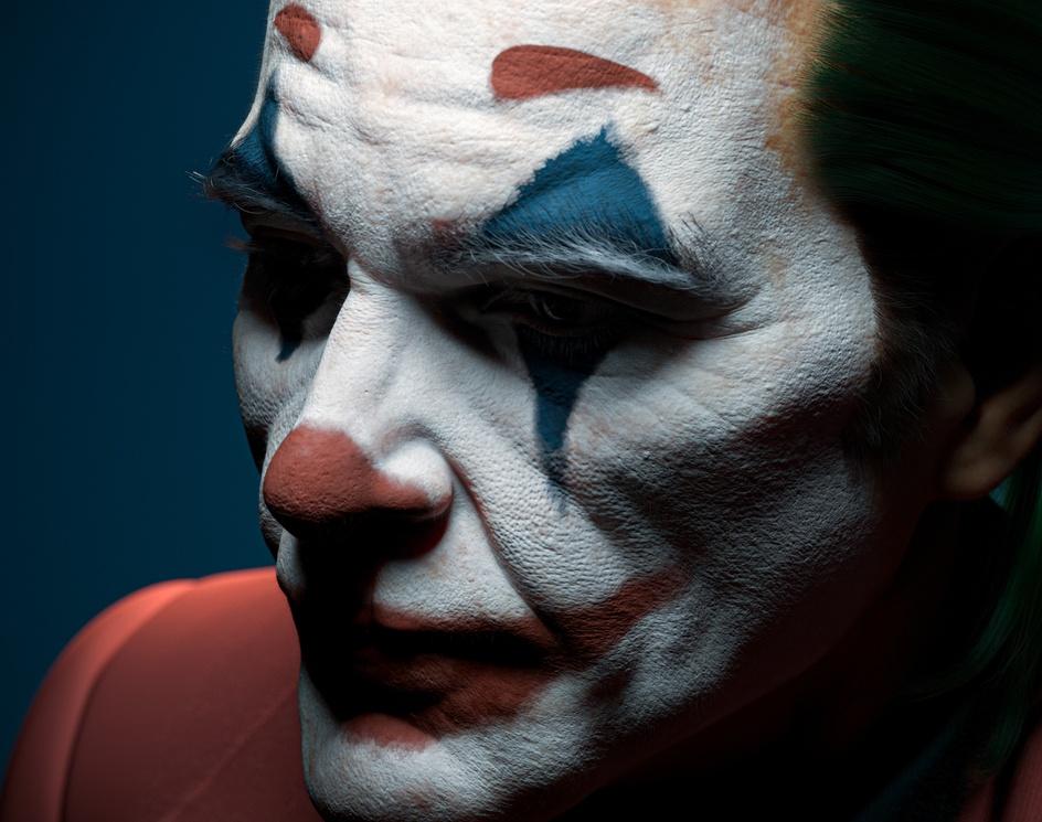 Joker(Arthur Fleck)by Ahmed Abdullah