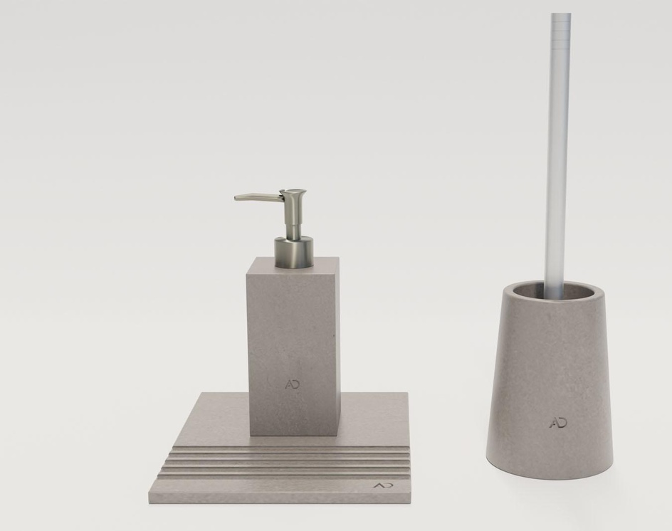 Wizualizacja produktu - Akcesoria łazienkoweby Zaplecze Graficzne