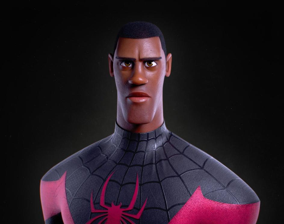 Miles Morales / Spider-Manby Alexandre Arpentinier