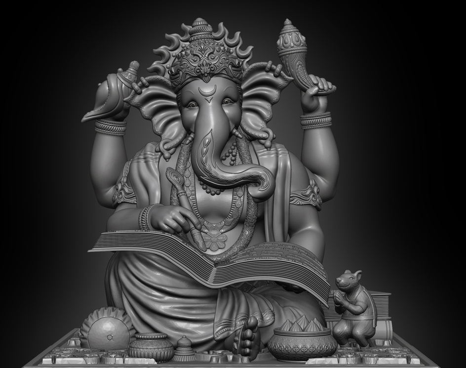 Lord Ganeshaby Algaari Studio
