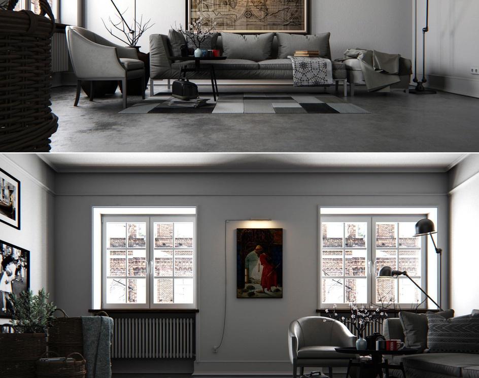 White Livingroomby Ali İhsan Değirmenci
