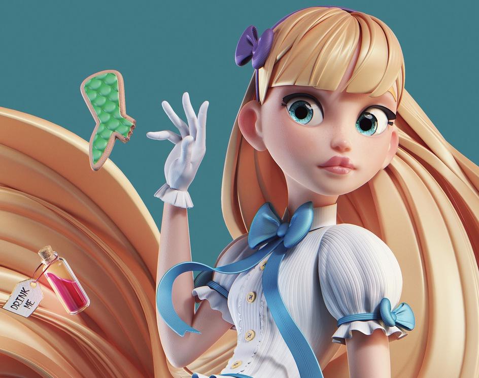 Alice Mermaidby MichaelSantin