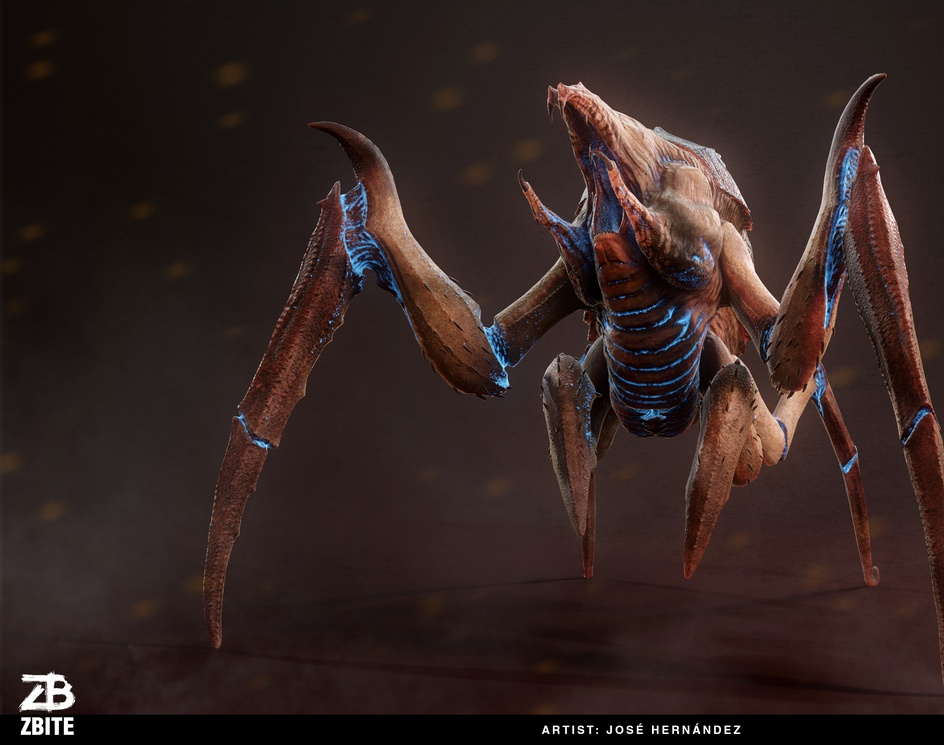 Alien Insect - Starship Tremorsby José Luis Hernández