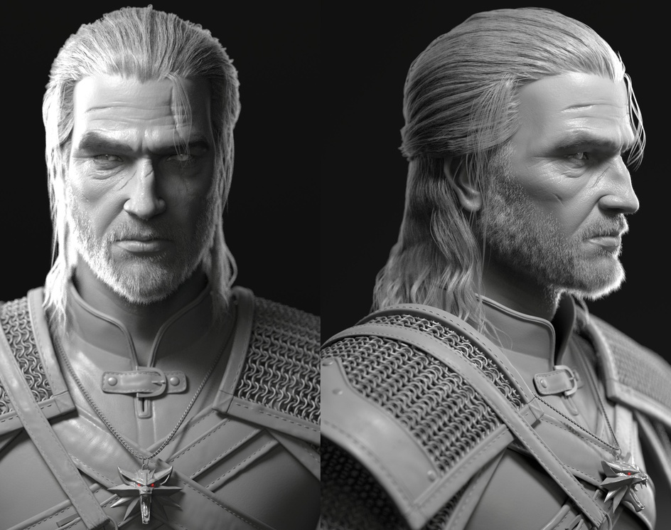 Geralt of Rivia : Witcherby SujungKwon