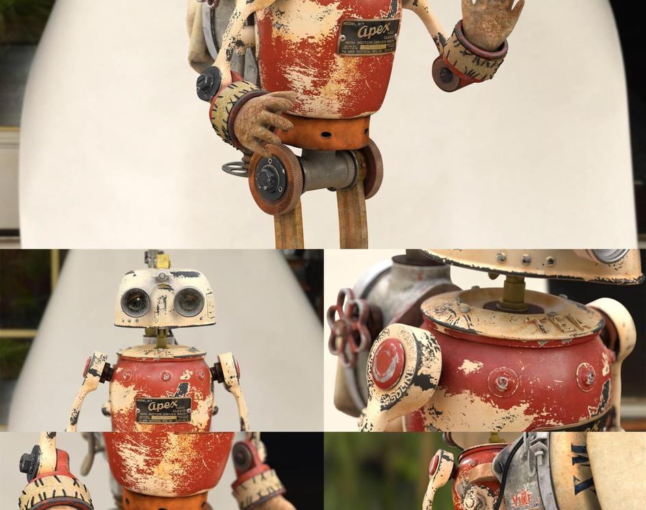 APEX the robotby alvaroclaver