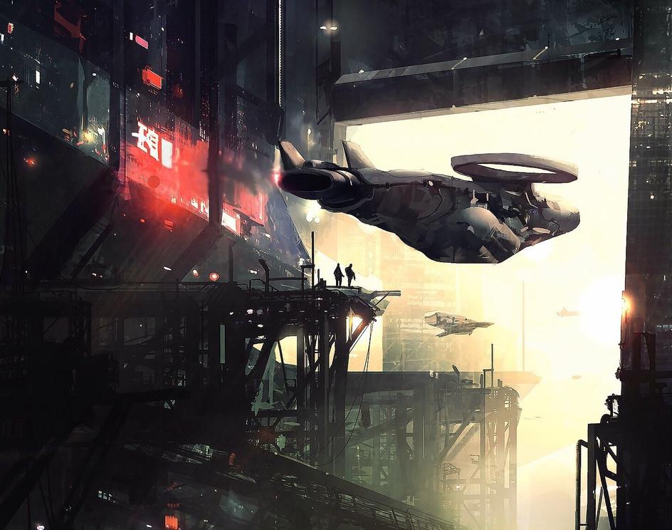 Cyberpunk City / Tutorialby Amir Zand