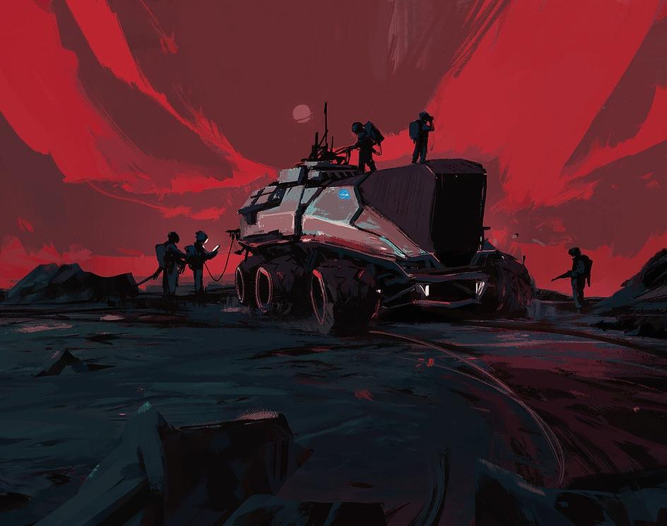 Martians / Tutorialby Amir Zand