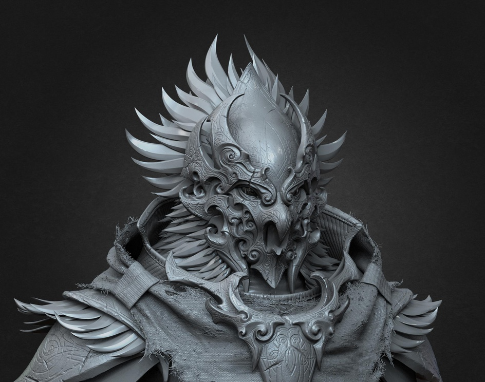 Ancient Warrior conceptby AstIIL