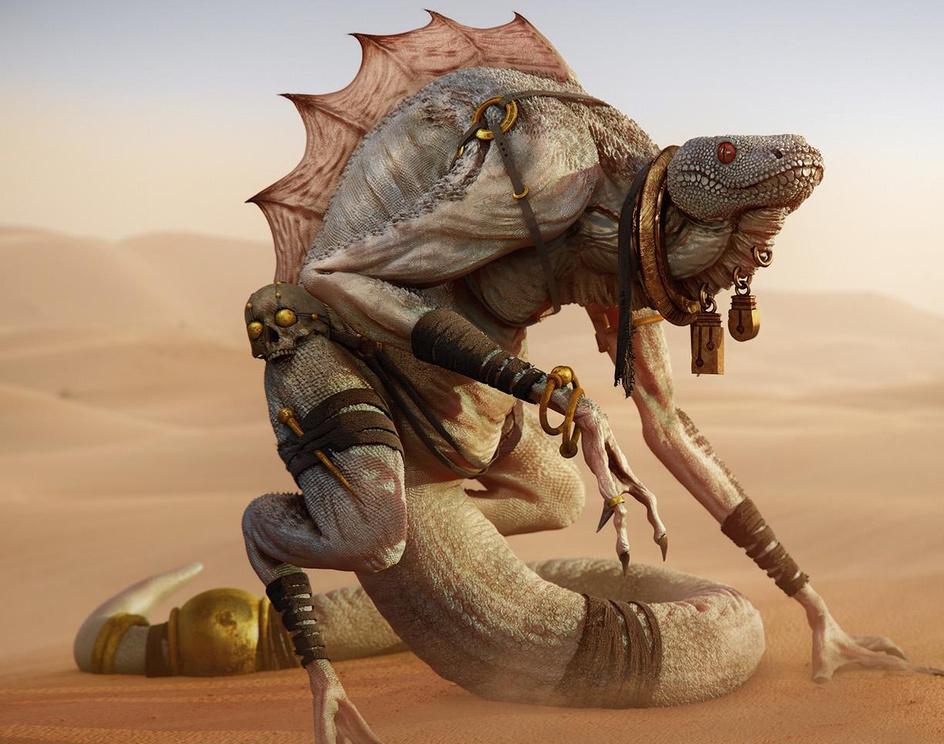 Desert Lizardby anderson virino