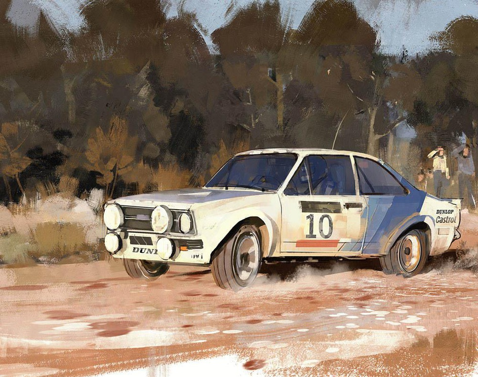 Ford Escort RS 1800by Joao Andias