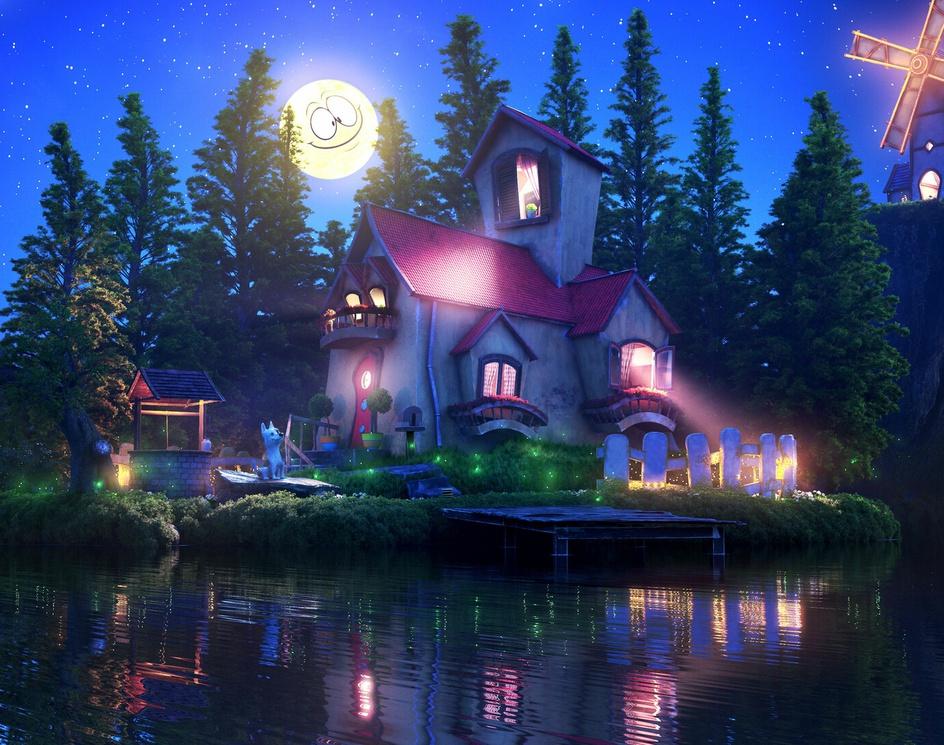 Dream Houseby André Salviato