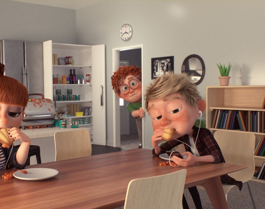 Hair grooming and shading for Heinz 'Geoff' - Assembly LTD. (2018)by Andrew Krivulya