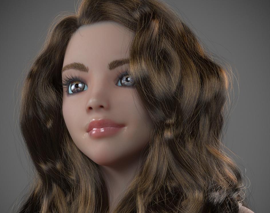 Ornatrix Camilla Hairstyle 2 (2018) by Andrew Krivulya